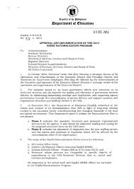 Announcement Letter Of Appointment Of Employee To New Position Rationalization Plan