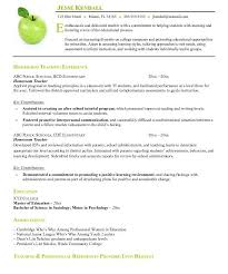 Best Teacher Resume Templates by Spectacular Idea Resume Templates For Teachers 10 Find Your Best