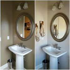behr bathroom paint color ideas rich and caramely this cozy bathroom inspiration includes a