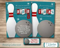 bowling flyer template bowling invitations templates free free