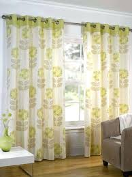 Floral Lined Curtains Lined Green Curtains Ea Green Ready Made Curtains A Bright And