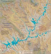 Colorado River Texas Map by Glen Canyon Dam Uc Region Bureau Of Reclamation