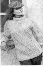 top 5 free aran knitting patterns for jumpers moss
