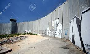 wall mural stock photos pictures royalty free wall mural images wall mural the israeli separation wall juts into the palestinian west bank town of bethlehem