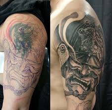 55 incredible cover up tattoos before and after tribal tattoos