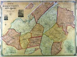 Hacklebarney State Park Map by 1853 Map Of Washington Township Morris County Nj Site Of Story