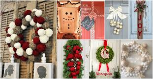 20 diy door decorations to make your home blissfully