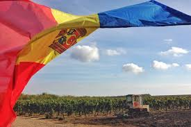 Moldova Flag Wine Country Moldova Travel Guide Podcast Indie Travel Podcast