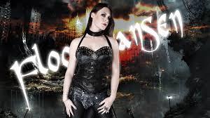 Floor Jansen Floor Jansen Women Brunette Singer Nightwish Collars