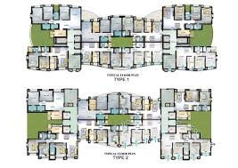 apartments plans of residential buildings village apartments