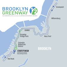 Nyc Marathon Route Map by Upcoming Events Brooklyn Greenway Half U0026 5k