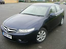 2007 used honda accord used honda accord 2007 petrol 2 4 i vtec ex 4dr saloon blue