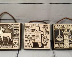 Home Decor Signs And Plaques Zodiac Plaque Etsy