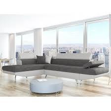 matière canapé canapé d angle gauche convertible avec coffre de rangement bi