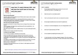 leap year comprehension skills workshop
