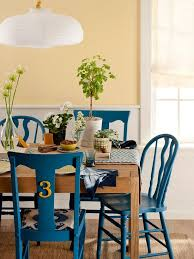 Painted Dining Room Furniture Ideas Colored Dining Chairs Best 25 Painted Dining Chairs Ideas On