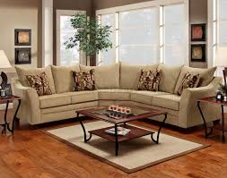 Beige Sectional Sofas Beige Fabric Modern Sectional Sofa