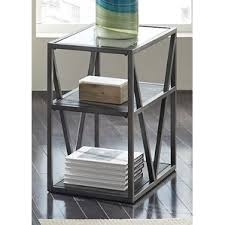 Chair Side Table Modern Glass End Side Tables Allmodern