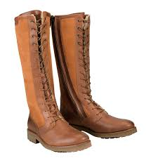 light brown boots womens aigle chantelace sheepskin laced leather boot women s gold