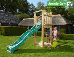 what climbing frame suits my small garden