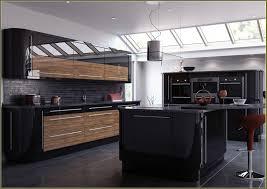 Black Gloss Kitchen Ideas by High Gloss Black Kitchen Cabinets Home Design Ideas