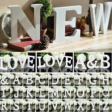 wooden letters home decor wooden letter shaped baby home décor plaques signs ebay