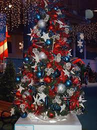 patriotic tree tree holidays and pine cone