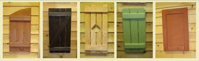 exterior cedar shutter styles eye on design drapery shutters