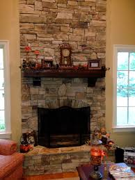 installing stone veneer fireplace surround using thin natural idolza