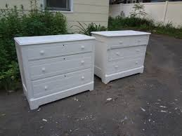 heir and space a pair of cottage style dressers as nightstands