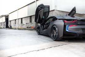 Bmw I8 Widebody - matte gray bmw i8 adv05c track spec cs wheels adv 1 wheels