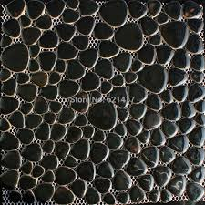 aliexpress com buy black ceramic porcelain mosaic tiles