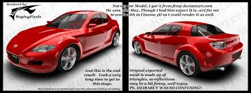 mazda is made by mazda rx 8 not mines by ragingpixels on deviantart