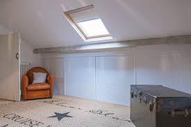 chambre sous les combles placard sous pente sur mesure paris nantes vannes lorient