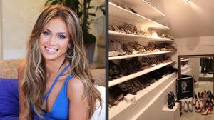 j lo is taking us inside her enormous closet hollywood at