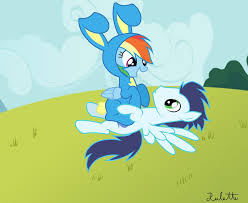 Mlp Easter Eggs Mlp Soarin And Rainbow Dash Happy Easter Soarin By Rulette On