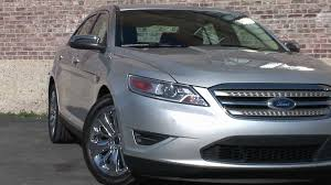 2010 Ford Taurus Interior 2010 Ford Taurus Limited Drive Time Review Youtube