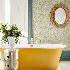 wallpaper in bathroom ideas great bathroom decorating ideas housekeeping