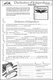 declaration of independence teaching ideas google search fun