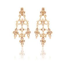 diamond chandelier earrings flont diamond smokey quartz chandelier earrings by h
