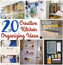 creative kitchen ideas 20 creative kitchen organizing ideas mothers home intended for the
