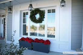 christmas front porch the sunny side up blog