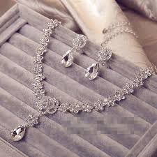 bride necklace images 2016 new a wedding bride necklace necklace earrings two piece jpg