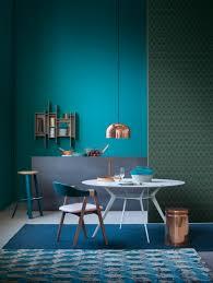 blue beige mint interior modern bauhaus cubism leather sofa