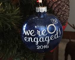 we re engaged ornament