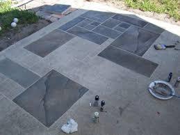 Patio Paint Designs Patio How To Paint A Concrete Patio Home Designs Ideas