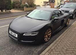 Audi R8 Matte Black - timeline u2013 compare customssatin black matte audi r8 v10 plus gold