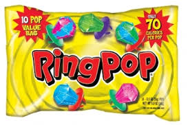 candy bags ring pop candy value bag 12 ct candy central