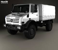 mercedes unimog truck mercedes unimog u4000 flatbed canopy truck 2000 3d model hum3d