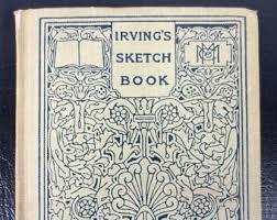 irving sketch book etsy